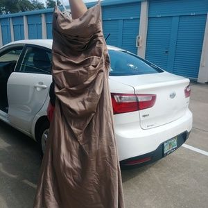 Bridesmaids dress from David's bridal